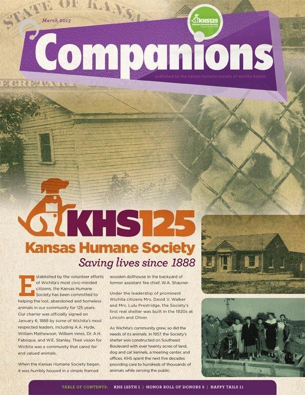 KHS 1Q13 NL 1 - KHS Reports - Kansas Humane Society - Animal Shelter