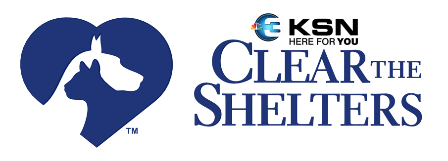 KSN HFY Clear the Shelters Logo